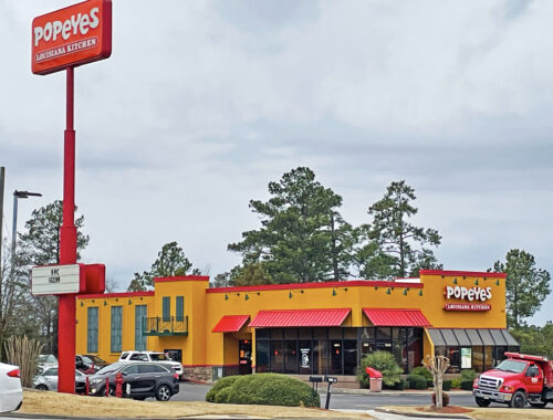 Popeyes Franchise cost